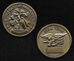 Navy SEAL Challenge Coin