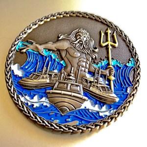 Neptune Challenge Coin