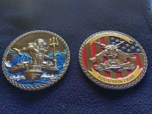 Riverine Squadron 8 Challenge Coin