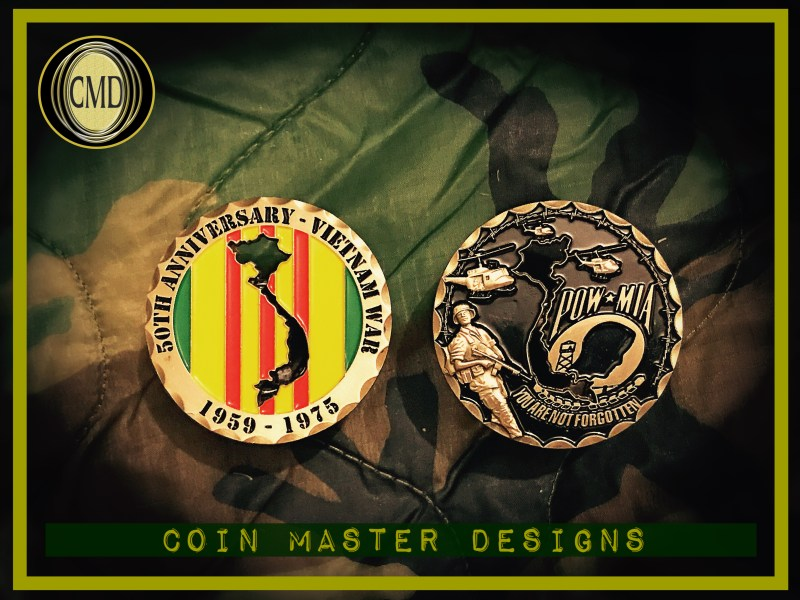 Vietnam War 50th Anniversary Coin