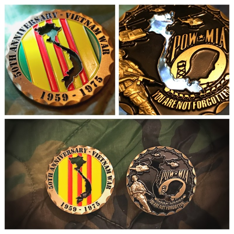 Vietnam War 50th Anniversary Coin - coinmasterdesigns.com