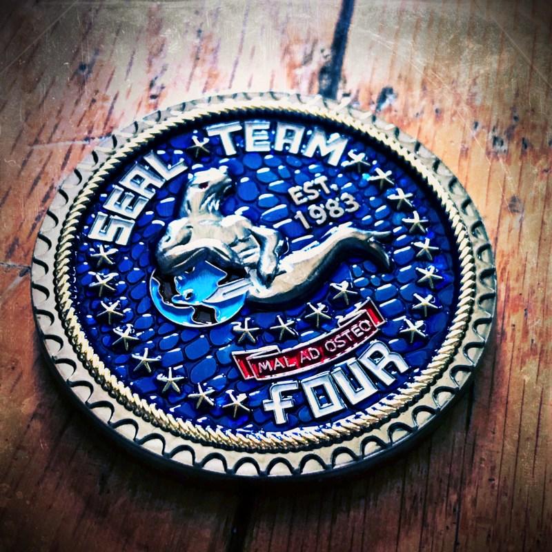 SEAL Team 4 coin