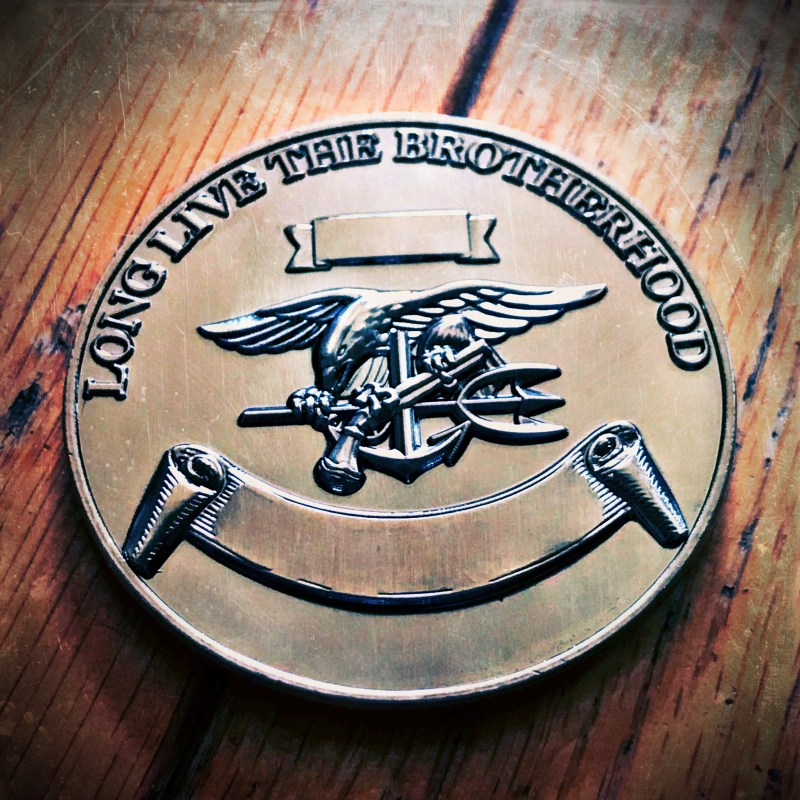 SEAL Team 4 coin back