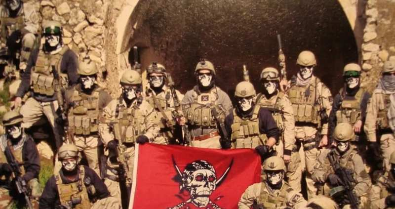 SEAL Team Five troop