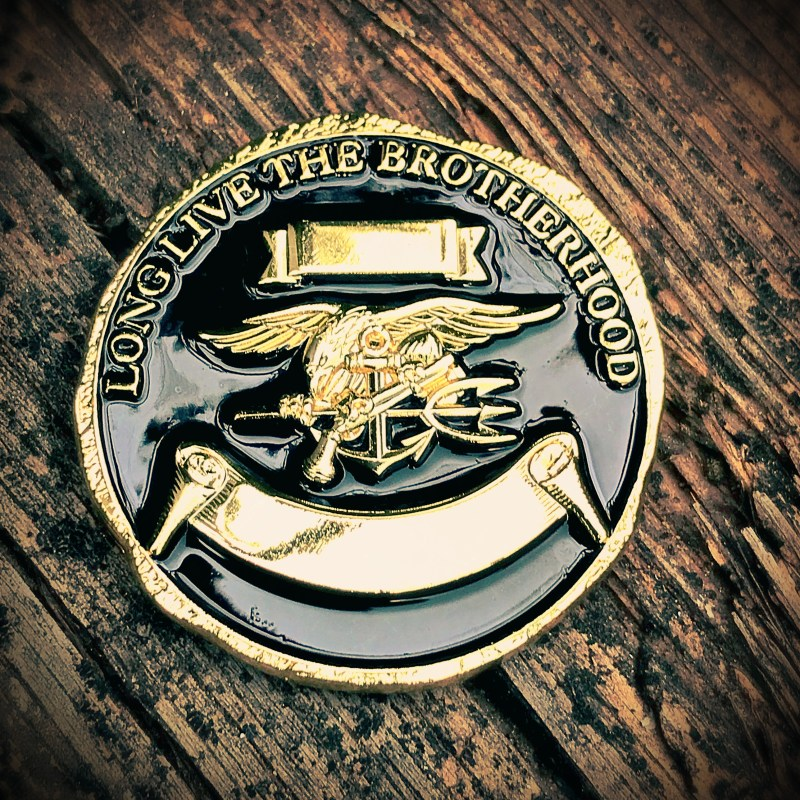SEAL Team 5 coin back