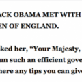 This Joke About Obama Meeting The Queen Of England Is Too Funny