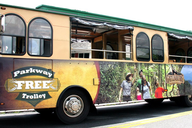 Gatlinburg Trolley Free