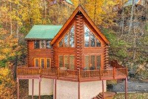 A cabin in Gatlinburg, TN called The Original American Dream