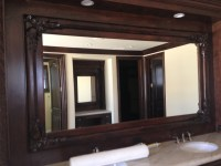 Custom Wood Framed Mirrors - Patriot Glass and Mirror ...