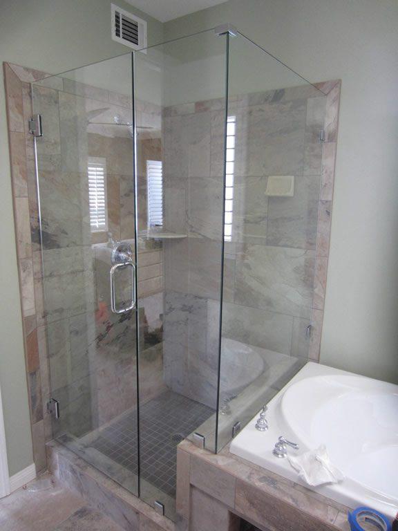 Frameless Shower Enclosure  Hillcrest  Patriot Glass and