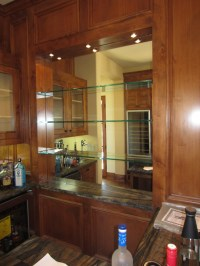 Glass Shelves And Bar Mirror - Patriot Glass and Mirror ...