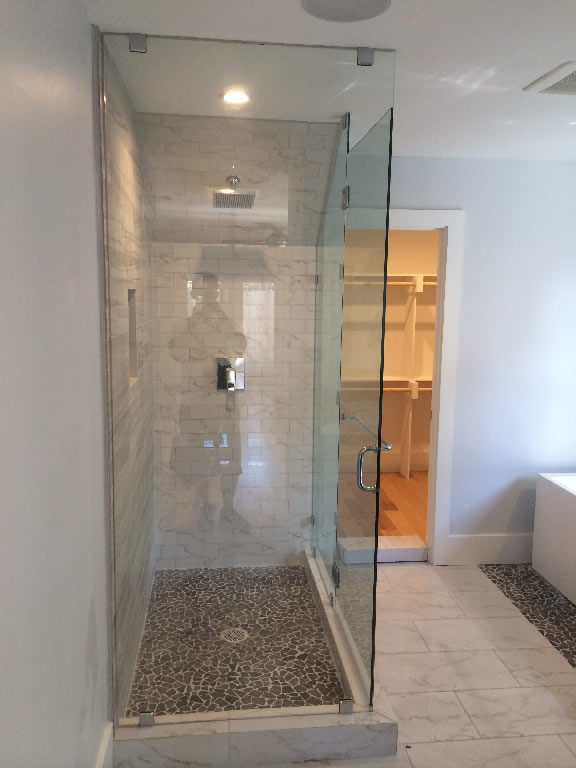Glass Enclosure With Angled Ceiling  Patriot Glass and