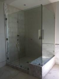 Large Half Inch Frameless Glass Shower Enclosure - Patriot ...