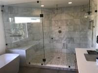 Very Large Frameless Glass Shower Enclosure - Patriot ...