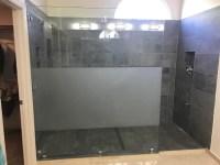 Custom Glass Shower Panel - Patriot Glass and Mirror | San ...
