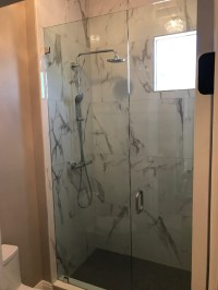 La Jolla - Large Glass Shower Install - Patriot Glass and ...