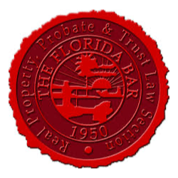 Real Property Probate and Trust Law Section of the Florida Bar Logo