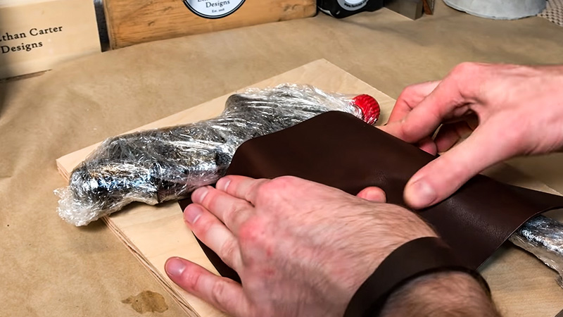 Making A Molded Leather Holster