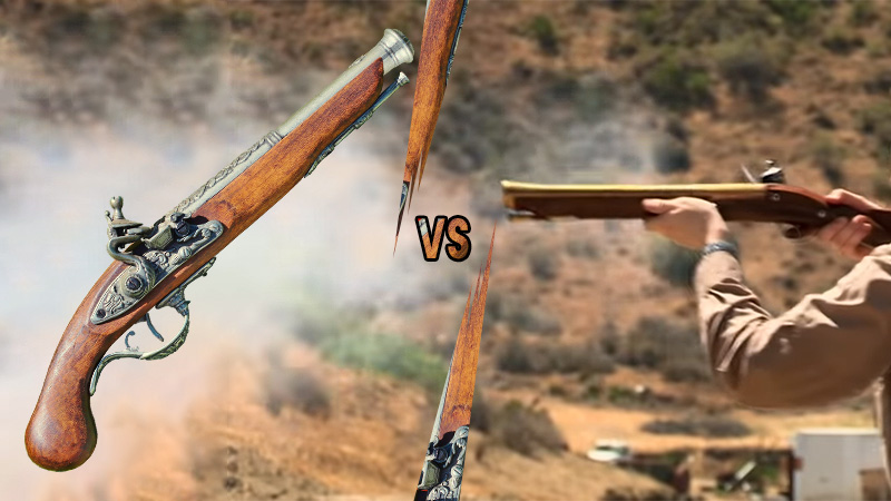 Which Is Better Blunderbuss Or Pistol