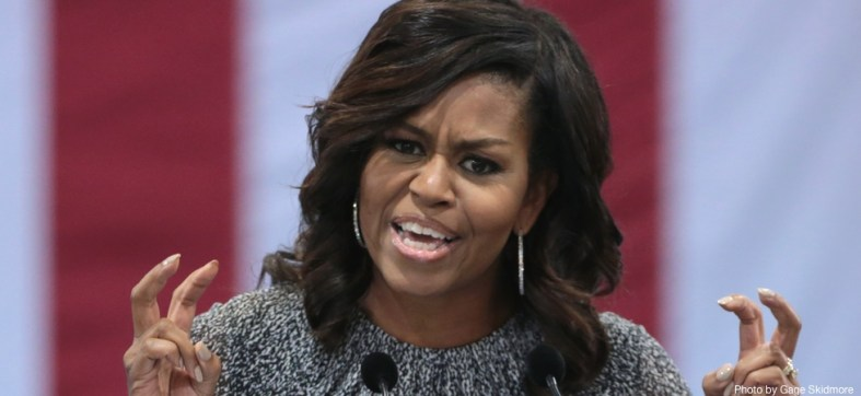 Michelle Obama just revealed her intentions for 2020 with