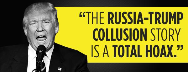 Russia trump collusion hoax