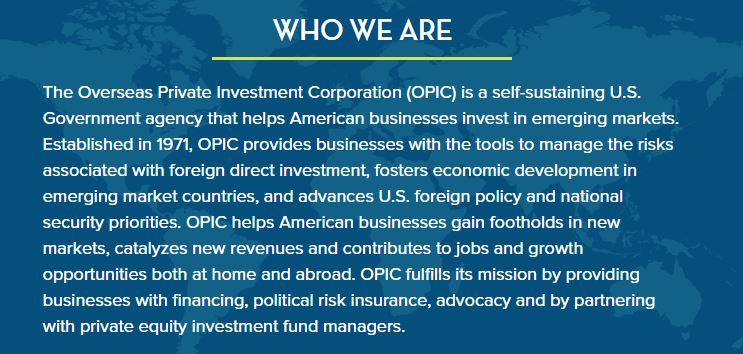 OPIC who we are