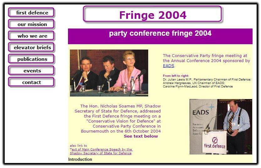 Fringe meeting 2