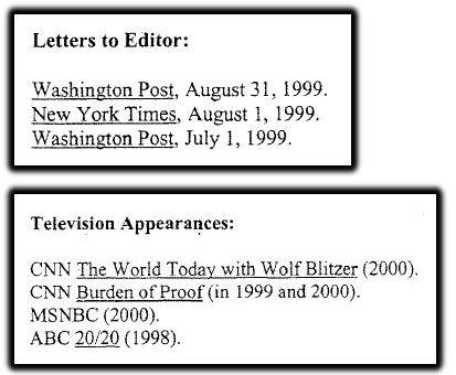 Kavanaugh and media