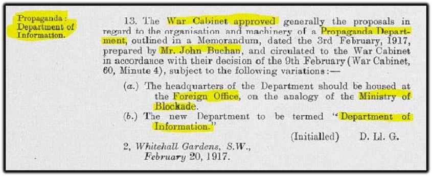 war cabinet