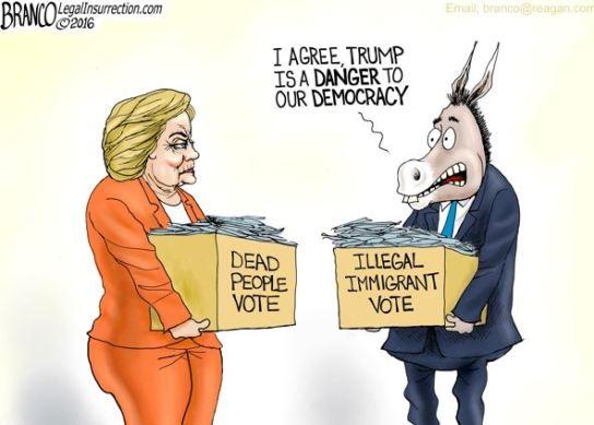 branco hillary election rig