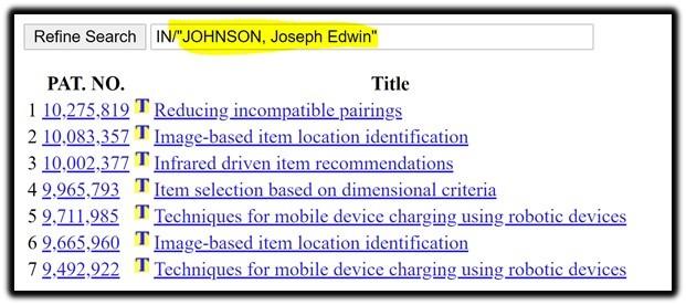 joseph edwin Johnson