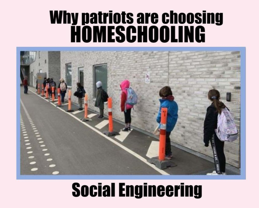 Homeschooling social engineering