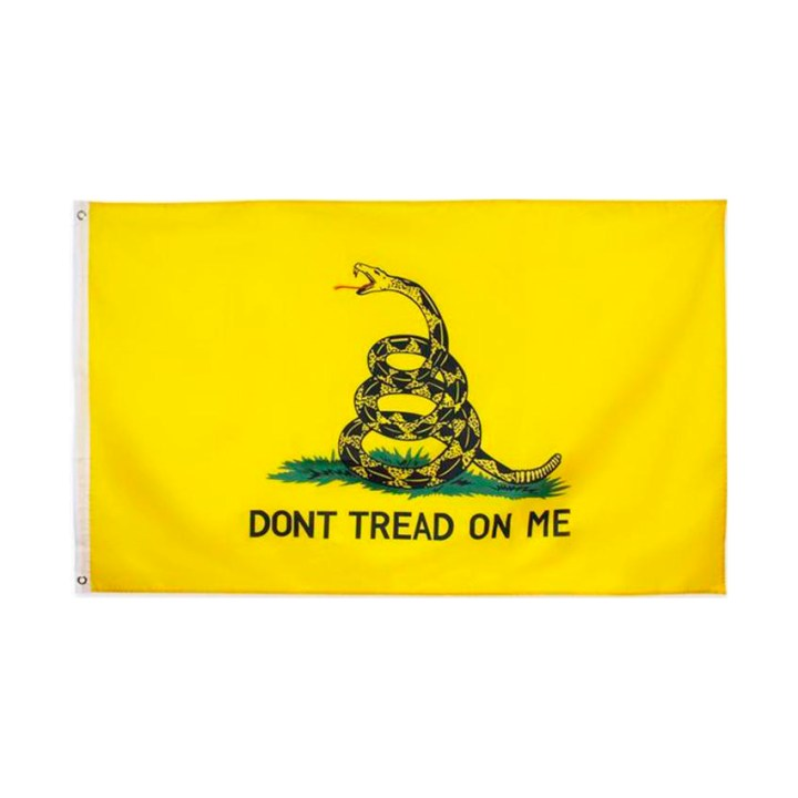 Yellow Gadsen-Dont-Tread-on-Me-Flag