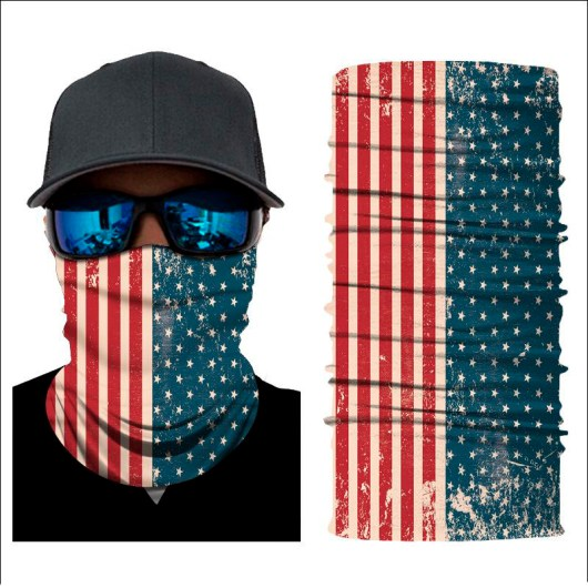Stars and Stripes Neck Gaiter