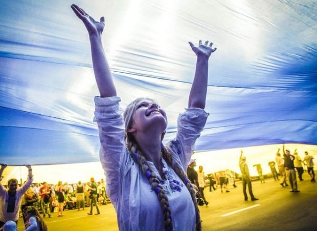 Україна святкуватиме 25-річчя Незалежності. Фото: afisha.tochka.net.