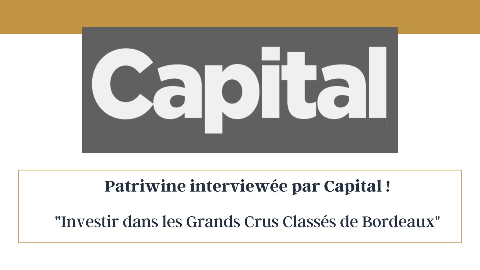 Capital - Patriwine