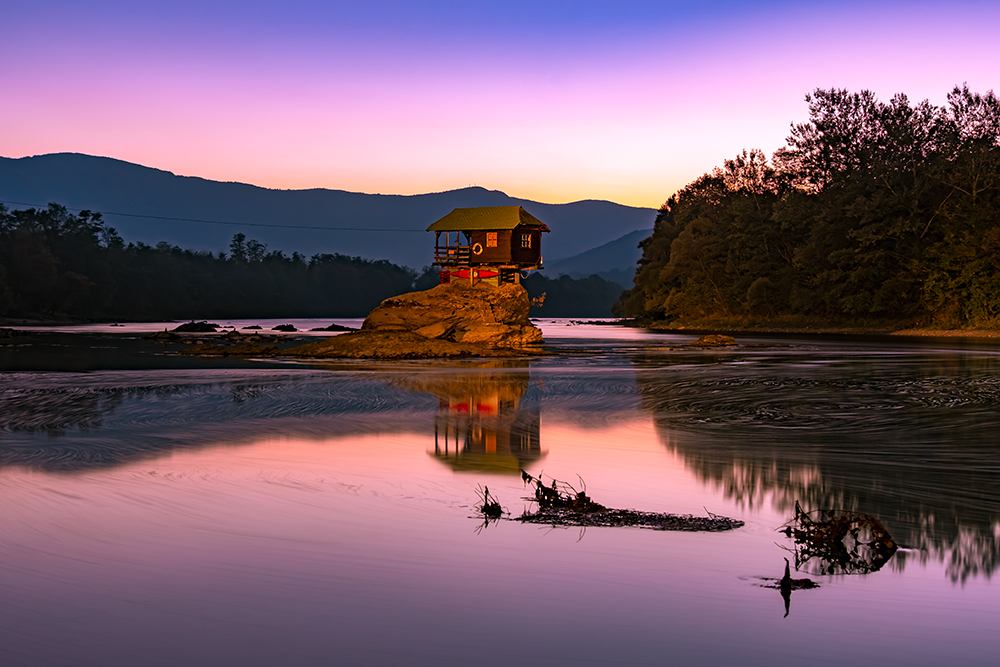 serbia, tara, nature, water, bajina, basta, europe, landscape, river, view, herzegovina, little, house, small, scene, drina, serb, scenery, bosnia, rock, home, park, serbian, scenics, yugoslavia, balkan, dusk, hut, european, lonely, eastern, sky, natural, evening, gloaming, boards, alone, nightfall, twilight, reflection, night, wooden, croatia, building, forest, woods, cultivated, land, mount, hill, valley, winding, hilly, homes, settlement, clouds, dwelling, mountain, houses, bend, curve, flood, sinking, mountains, vacations, destinations, balcony, landmark, journey, tourism, balkans, famous, bungalow, stone, sunset, architecture, place, holiday, romantic, floating, travel tara, serbia, river, drina, landscape, nature, europe, mountain, perucac, forest, scenery, bajina, basta, hilly, hill, serb, adventure, canyon, environment, lake, plant, gorgeous, viewpoint, high, beautiful, summer, vacation, extreme, wood, land, herzegovina, balkans, famous, architecture, bungalow, flood, vacations, mountains, holiday, house, romantic, sunset, destinations, landmark, journey, clouds sunset, sunrise, holiday destination, back backing, travel, traveling. Attractive,peaceful, calm, serene, still, tranquil, man made, wooden, cabin,shelter, Bajina Bašta in Serbia