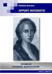 Appunti Matematici 34
