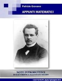 Appunti Matematici 42/43/44