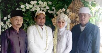 Terapkan Prokes, Pernikahan Anak Kabiro Patroli Tangerang Banten Berlangsung Sederhana