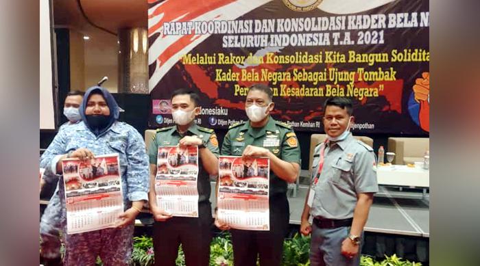 Rakor dan Konsolidasi Kader Bela Negara Seluruh Indonesia Tahun 2021 Dihadiri Peserta dari Banten