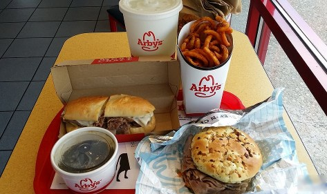 Arby's delicious fast food