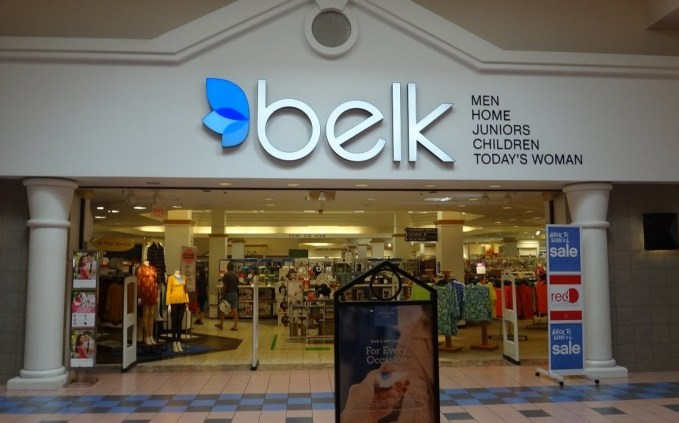the outlook of belk store
