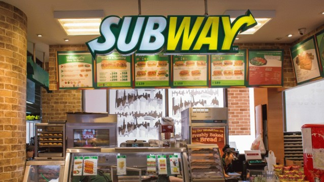 Inside the subway store