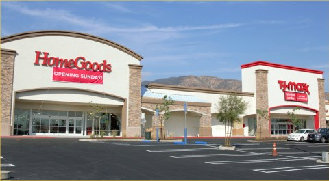 homegoods and tjmaxx store