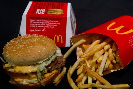 McDonald's Big Mac & Fries