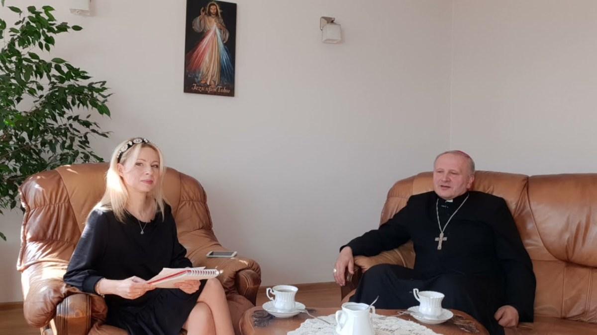 Biskup też człowiek – bp Łukasz Buzun OSPPE