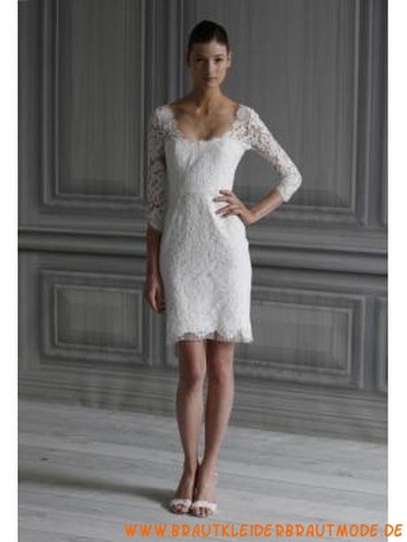 Brautkleider kurz creme