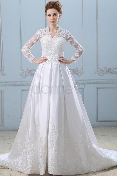 Hochzeitskleid mit rmel