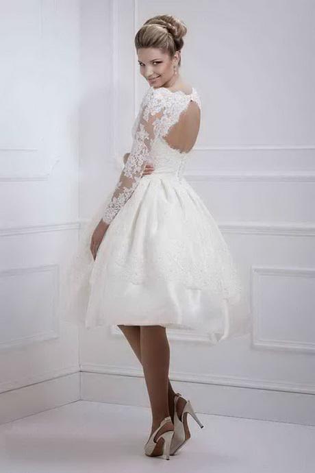Brautmode standesamt kurz